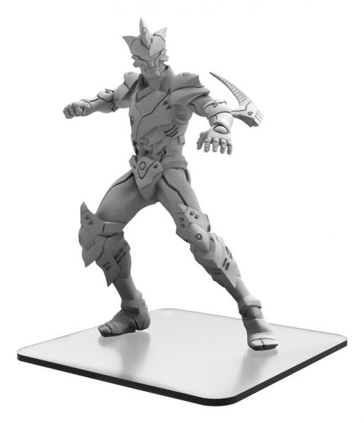 Monsterpocalypse: Zor-Maxim - Shadow Sun Syndicate Monster (metal/resin)
