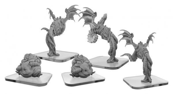 Monsterpocalypse (2018): Squix & Meat Slave - Lords of Cthul Unit (resin)