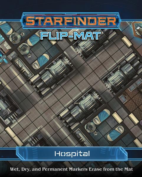 Starfinder RPG: Starfinder Flip-Mat - Hospital
