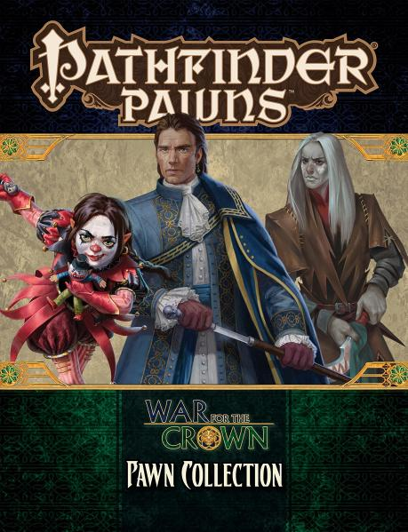 Pathfinder RPG: (Pawns) War for the Crown Pawn Collection
