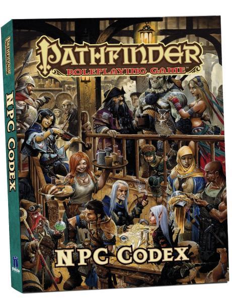 Pathfinder RPG: NPC Codex Pocket Edition