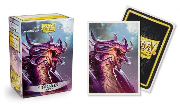 Dragon Shield Art Sleeves: Standard - Classic 'Carnax' Art (100 ct.)