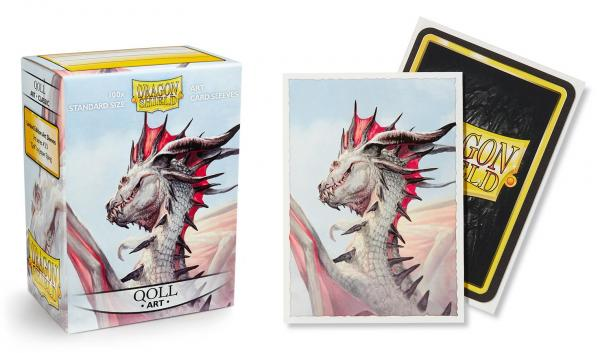 Dragon Shield Art Sleeves: Standard - Classic 'Qoll' Art (100 ct.)
