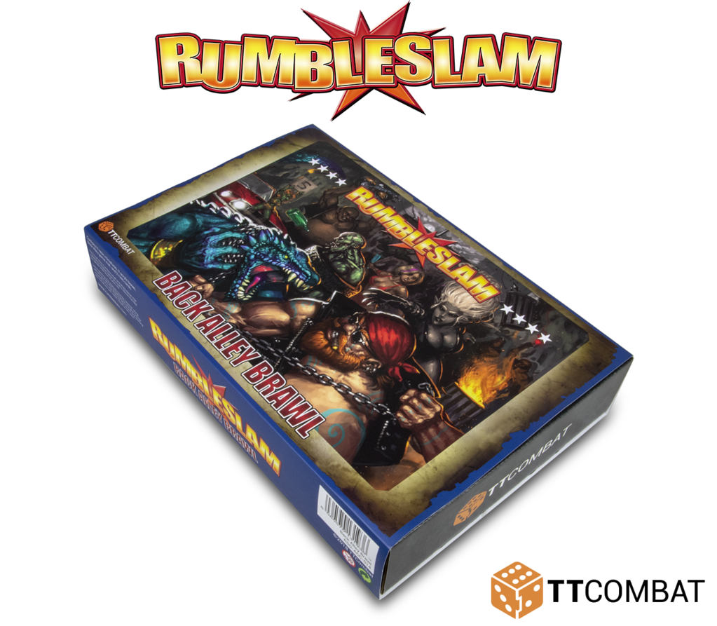 RUMBLESLAM: Back Alley Brawl Expansion