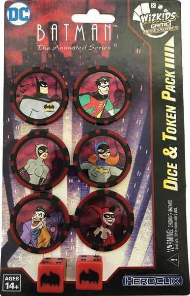 DC Heroclix: Batman The Animated Series Dice and Token Pack
