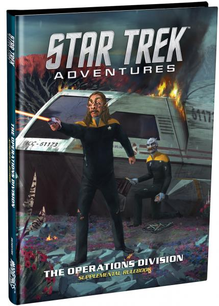 Star Trek Adventures RPG: The Operations Division Supplement (HC)