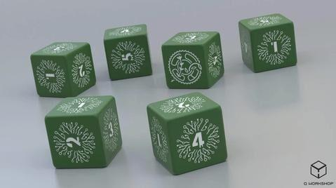 Legacy: Life Among the Ruins RPG - Dice Set