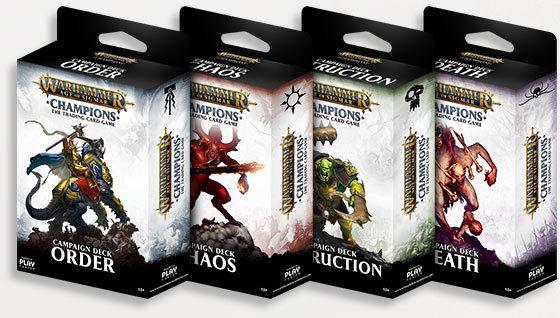Warhammer Age of Sigmar: Champions Campaign Deck (Random)
