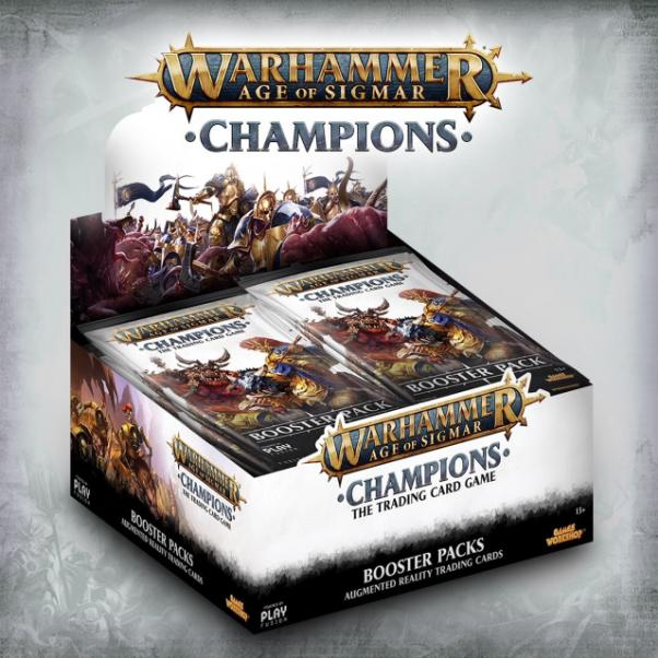 Warhammer Age of Sigmar: Champions Booster Display (24 Packs)
