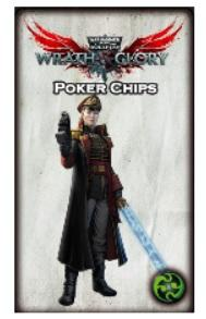 Wrath & Glory RPG: Poker Chip Tokens (Wrath, Ruin, and Glory)