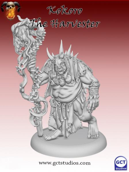 Bushido Miniatures: (Savage Wave) Kokoro the Harvester