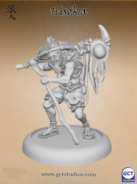 Bushido Miniatures: (Savage Wave & KKZ) Hisoka