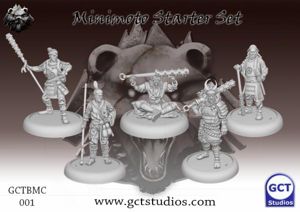 Bushido Miniatures: Minimoto Starter Set