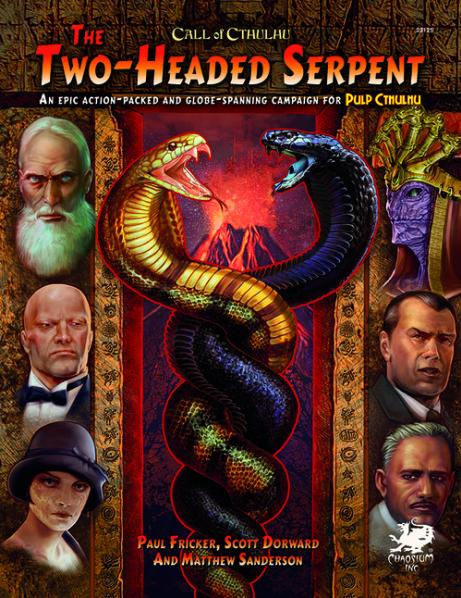 Call of Cthulhu RPG: Two-Headed Serpent (HC)