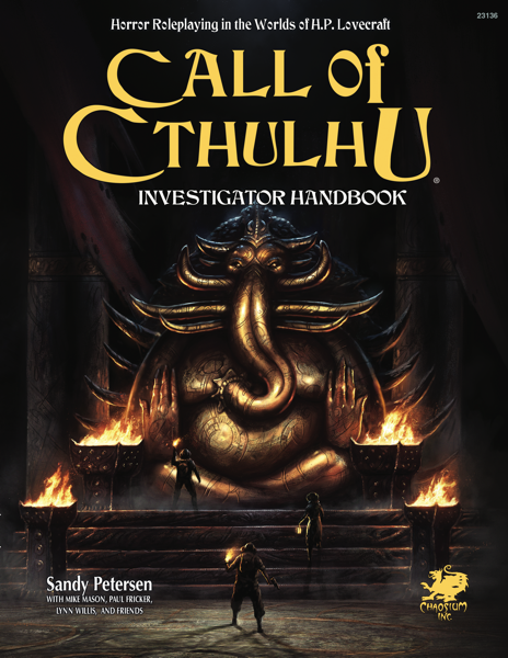 Call of Cthulhu RPG: Investigator Rulebook (HC)