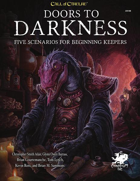 Call of Cthulhu RPG: Doors to Darkness (HC)