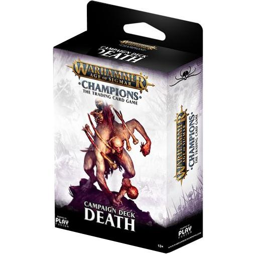Warhammer Age of Sigmar: Champions Campaign Deck (Death)
