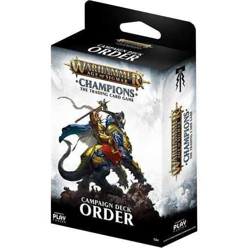 Warhammer Age of Sigmar: Champions Campaign Deck (Order)