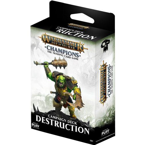 Warhammer Age of Sigmar: Champions Campaign Deck (Destruction)