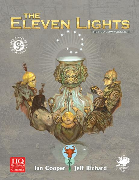 HeroQuest Glorantha V1: The Eleven Lights (HC)