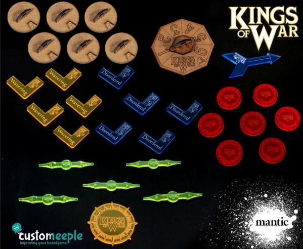 Counters & Tokens: Kings of War Gamer Pack (31 pcs)