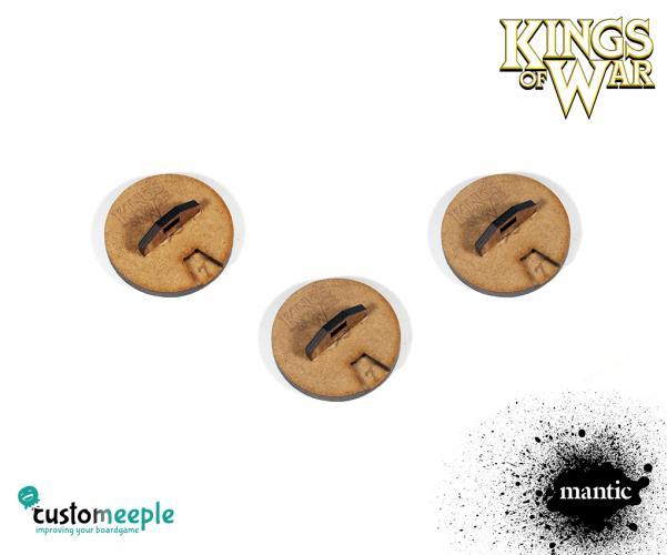 Counters & Tokens: Kings of War Unit Damage dials (3 pcs)