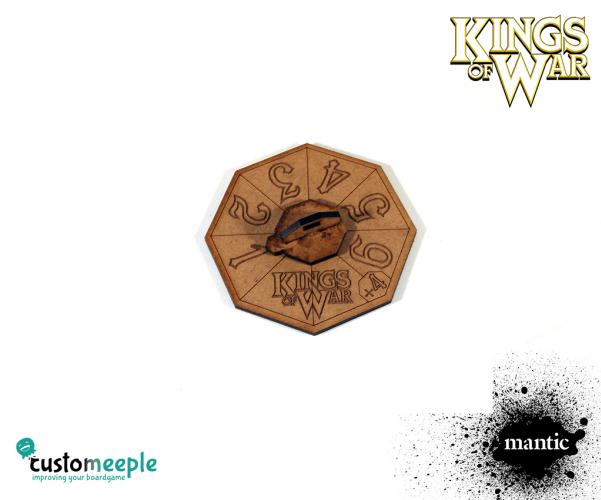 Counters & Tokens: Kings of War Turn Tracker