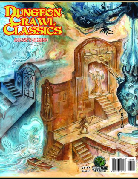 Dungeon Crawl Classics RPG: Judges Screen Thakulon Art (Limited)