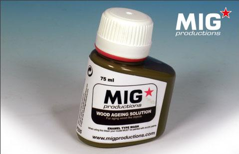 MIG Productions: (Washes & Effects) WOOD-AGEING WASH FOR WOOD (75ml)