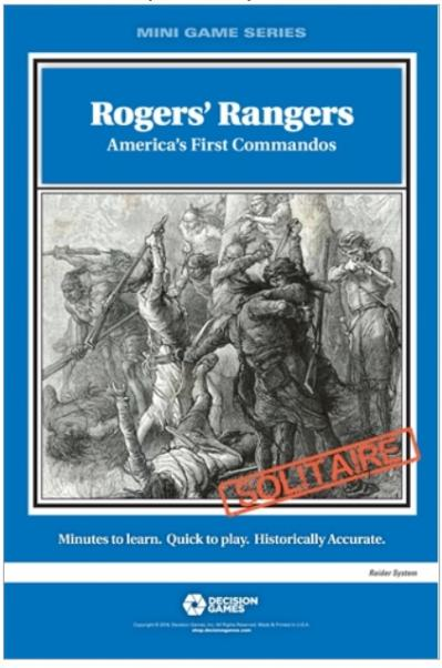 Mini Game Series: Rogers' Rangers - America's First Commandos