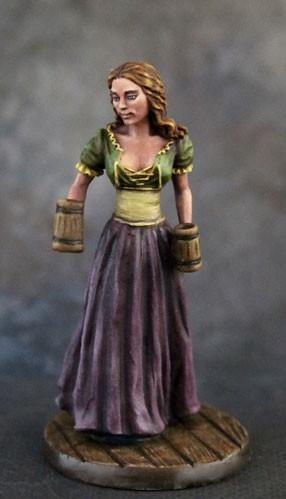Visions In Fantasy: Female Server with Ale