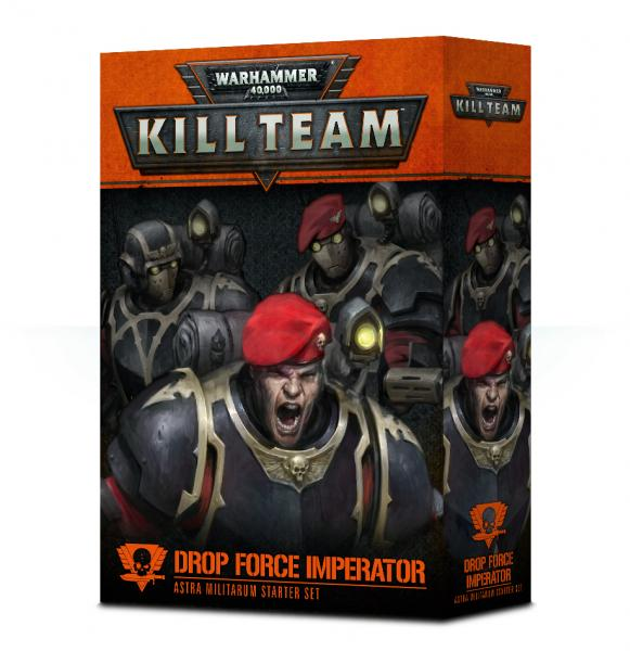Warhammer 40K: Drop Force Imperator - Astra Militarum Starter Set [KILL TEAM]