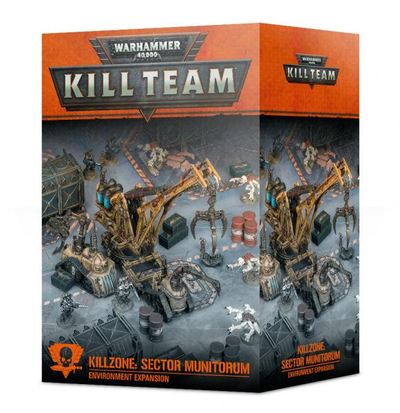 Warhammer 40K: Sector Munitorum Environment Expansion [KILL TEAM]