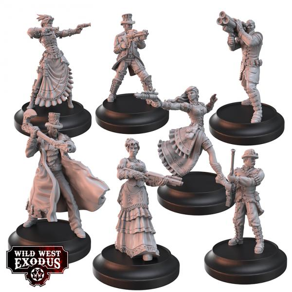 Wild West Exodus: Secret Service Posse Box Set