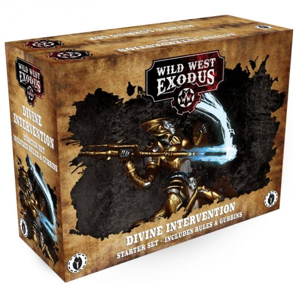 Wild West Exodus: Divine Intervention Posse Starter Set