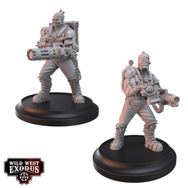 Wild West Exodus: Enlightened Brutes Set