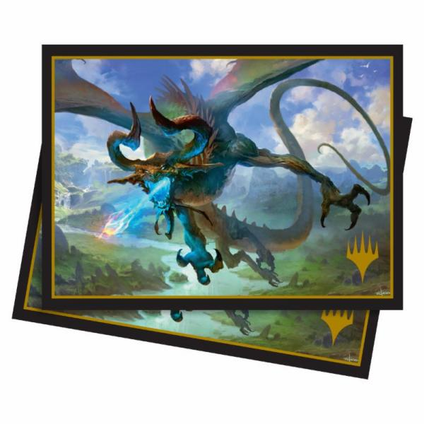 Magic The Gathering: Elder Dragons - Nicol Bolas, the Ravager Standard Deck Protector Sleeves (100)