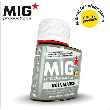 MIG Productions: (Washes & Effects) RAINMARKS (75ml)