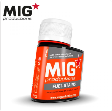 MIG Productions: (Washes & Effects) FUEL STAINS (75ml)