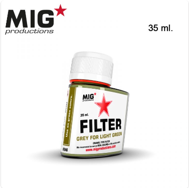 MIG Productions: (Filters) GREY FOR LIGHT GREEN (35ml)