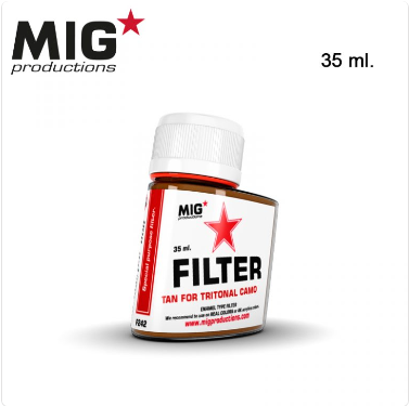 MIG Productions: (Filters) TAN FOR TRITONAL CAMO (35ml)
