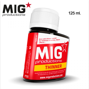 MIG Productions: THINNER for WASHES (125 ml)