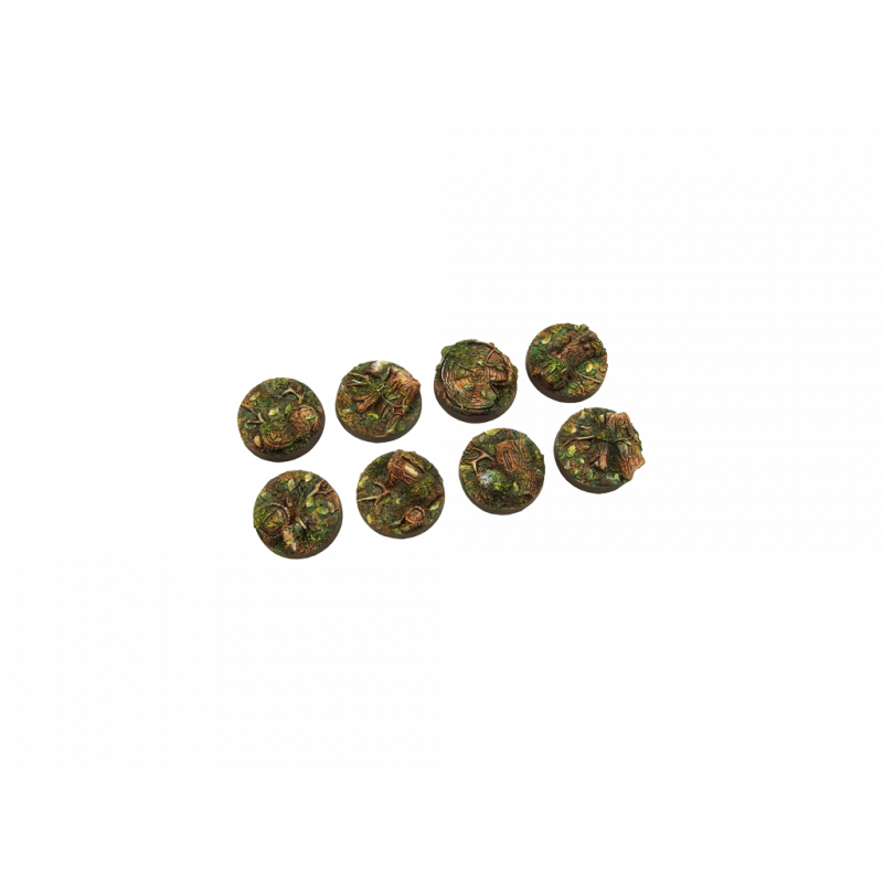 Battle Bases: (SWL) Forest Bases, Round 27mm (5)