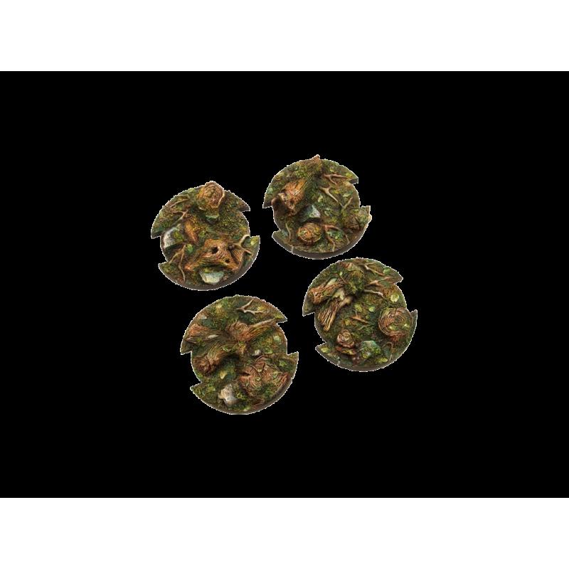 Battle Bases: (SWL) Desert Forest Bases, Round 50mm (2)