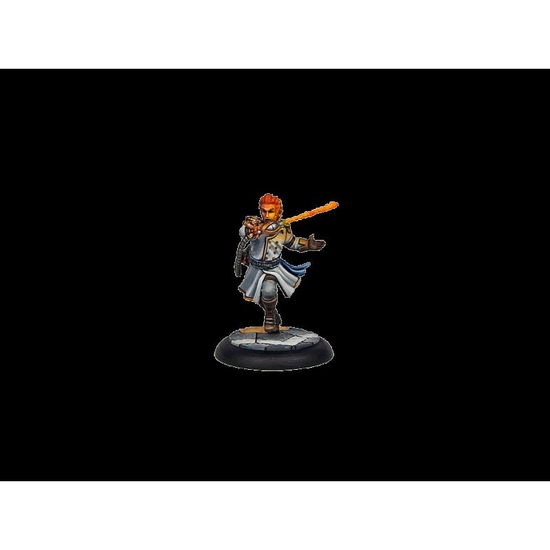Wolsung Steampunk Miniatures: Ash and Oak - Captain Frederik Olafson