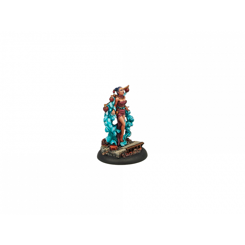 Wolsung Steampunk Miniatures: Triad of Lotus Dragon - Gui Deng