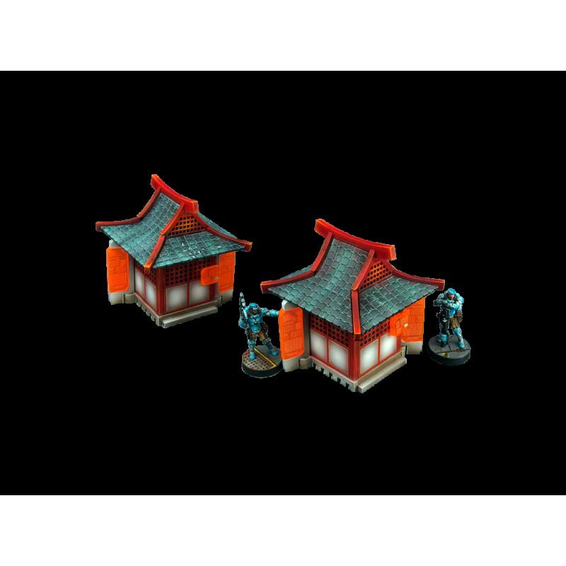 28mm Infinity Sci-Fi Terrain: Kokkyo 3 - Shrine