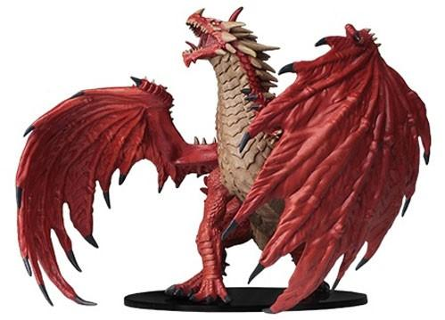 Pathfinder Deep Cuts Unpainted Miniatures: Gargantuan Red Dragon