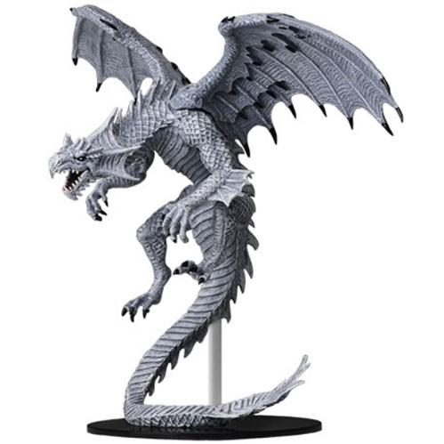 Pathfinder Deep Cuts Unpainted Miniatures: Gargantuan White Dragon