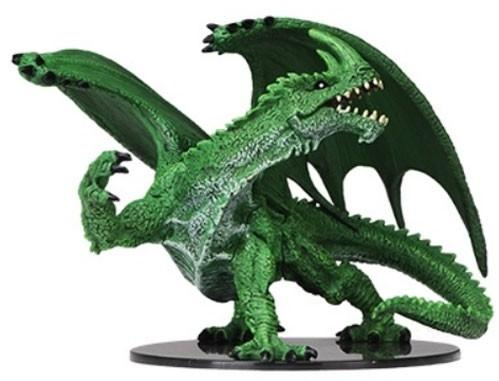 Pathfinder Deep Cuts Unpainted Miniatures: Gargantuan Green Dragon (1)